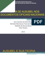 Apresentação Ausubel 2012 convertido