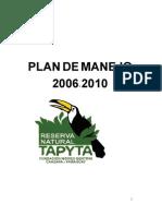 Plan de Manejo 04-2006