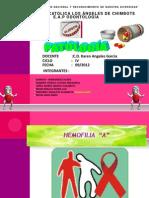 Exposicion Hemofilia a - Patologia