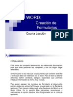 Word Leccion 4 - Formularios