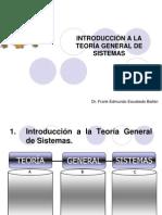 SEMANA 1 INTRODUCCIÓN A LA TEORÍA GENERAL DE SISTEMAS