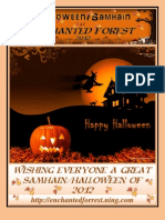 Samhain Halloween 2012 Enchanted Forest Magazine