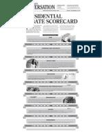Wausau Daily Herald presidential debate scorecard