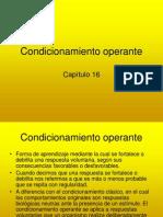 conductismo operante