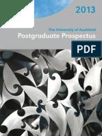 2013 Postgraduate Prospectus