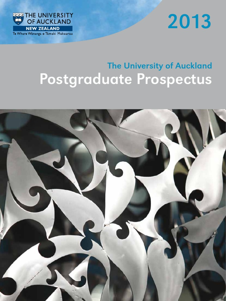 2013 Postgraduate Prospectus | Postgraduate Education | Doctor Of ...