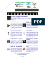 Weekend Edition - September 24 to September 28, 2012 - ForeclosureGate Gazette