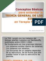 TEORÍA GENERAL DE LOS SISTEMAS EN TERAPIA FAMILIAR