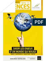 Programme Terre de Sciences Fin 2012