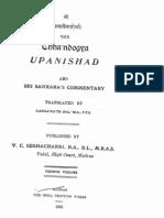ChandogyaUpanishadWithSankaraBhashya English Part2