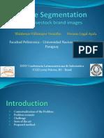 Stroke segmentation from livestock brand images (Presentation)