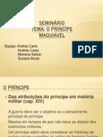 SEMINÁRIO O PRINCIPE