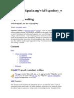 three main types of writing week essays narrative expository essay