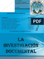 LA INVESTIGACIÓN DOCUMENTAL ORI
