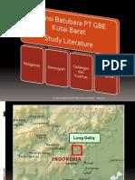 Study Literature Potensi PT GBE Kutai Barat-Kirim