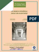 LA BANCA ESPAÑOLA SIGUE SIN AUDITARSE (Es) SPANISH BANKS