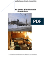 Welcome to Our Blue Mountain Rental Cabin
