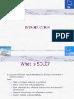 SDLC Introduction