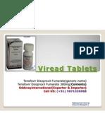 Viread -tenofovirTablets Discount Price.