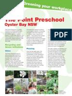 Doc 249 Case Study the Point Preschool