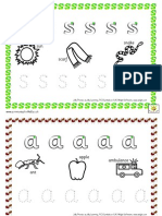 SATIPN Writing Formation Set