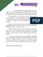 12-09-28 Nota Prensa Euskal Kopa