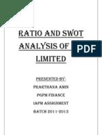 Analysis of ITC Financial Statement