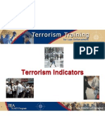 Terrorism Indicators