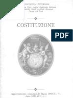 Costituzione Massoneria Universae