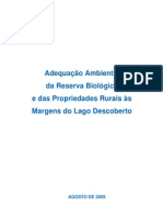 39568144 Adequacao Ambiental Da Reserva Biologica e Das Propriedades Rurais as Margens Do Lago Descoberto