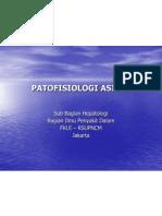 PATOFISIOLOGI ASITES