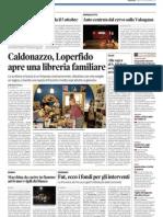 Libreria Mobydick Caldonazzo su Trentino del 29 settembre 2012