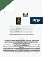 CLAVES PARAla destrucción deFORTALEZAS