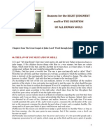 Brochure - NEW REVELATION - Reasons for the Right Judgment and for the Salvation of All Human Souls