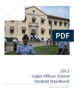 Cadet Officer School Guide (2011)
