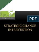 Strategic Change Intervention