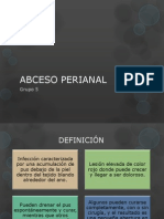 ABCESO PERIANAL