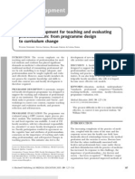 Faculty Development for Teaching