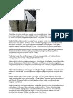Batako Styrofoam Untuk Bangunan Yang Tahan Gempa