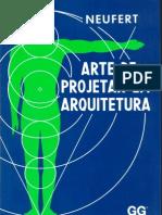 Arte de Projetar Em Arquitetura - Neuffer