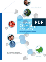 Innovation Chemistry and Jobs 2012