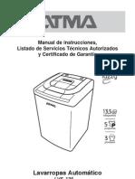 LVS-135 Manual Lavarropas