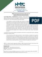 MMTC Statement - Cmr Clyburn, Incentive Auctns 092812