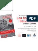 Presentación de Las flores de Baudelaire en Bruselas