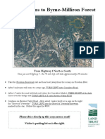 Directions to Byrne-Milliron Forest