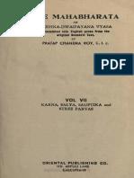 Karna, Salya, Sauptika & Stree Parvas