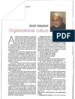 Building Organization Culture