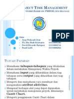 Presentasi Kelompok - Project Time Management