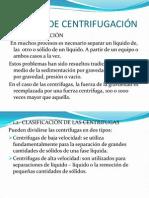 EQUIPOS DE CENTRIFUGACIÓN