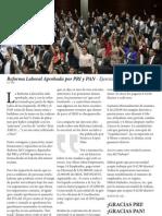 Reforma Laboral Aprobada